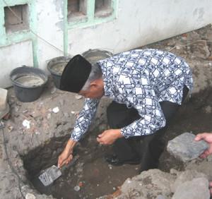 Peletakan Batu Pertama Renovasi Masjid Al-Marhamah