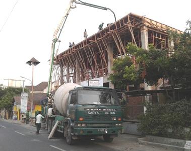 Pengecoran Atap